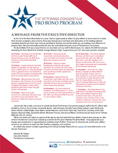2016 Pro Bono Week Message