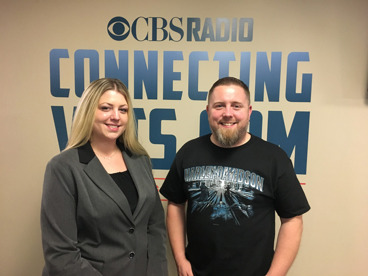 Samantha Stiltner and CBSRadio ConnectingVets.com