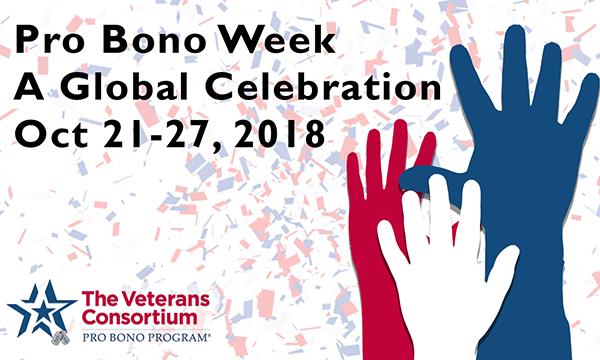 2018 Pro Bono Week