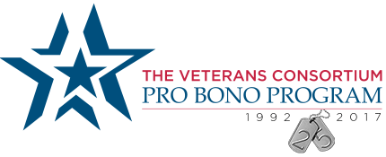 The Veterans Consortium Pro Bono Program Silver Anniversary